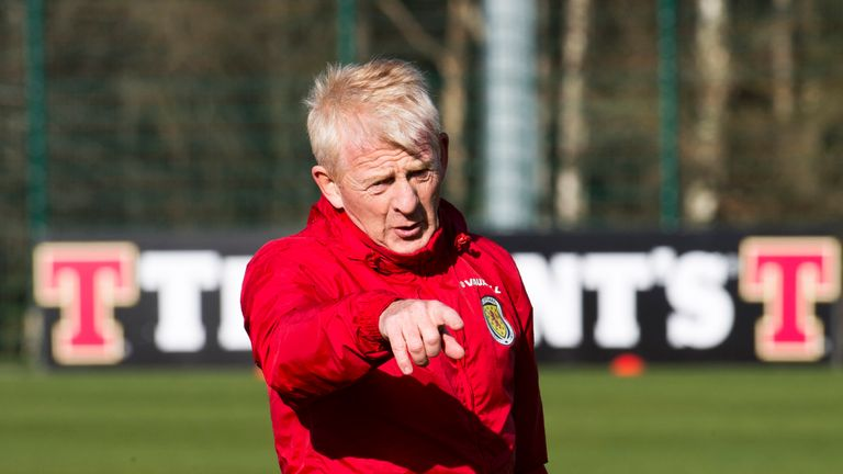 Scotland manager Gordon Strachan has called Cairney up for the first time
