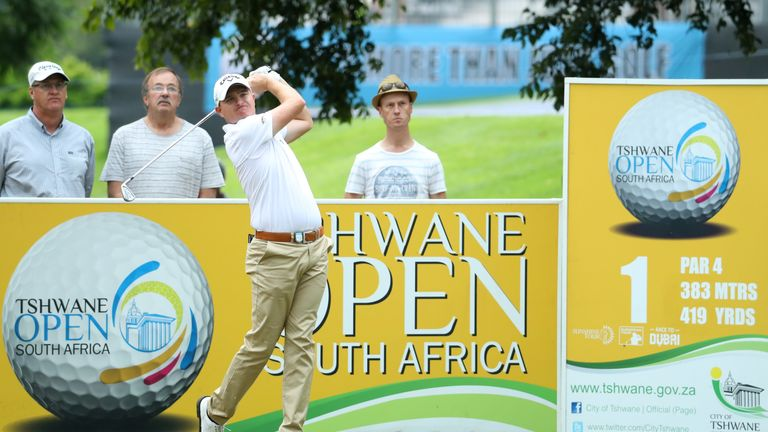 Three-way tie for lead after day one of Tshwane Open