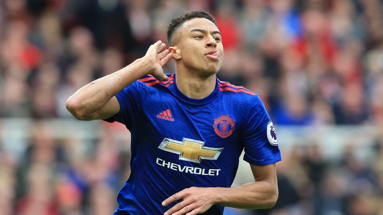 Jesse Lingard's cracker at Middlesbrough makes the cut