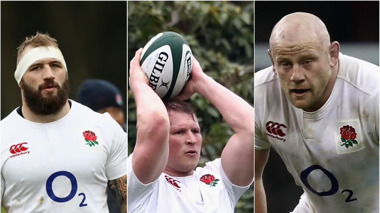 England front row trio Joe Marler, Dylan Hartley and Dan Cole have all had strong championships