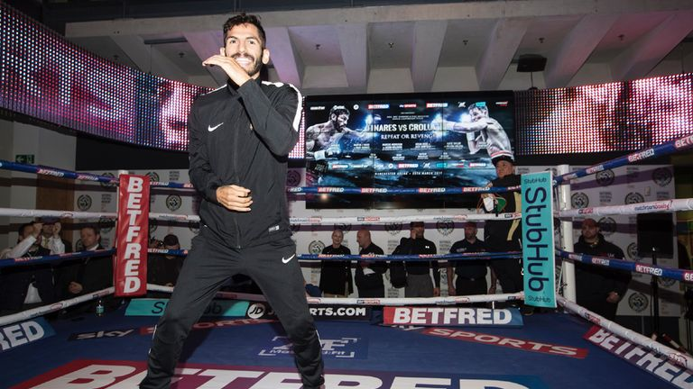 Linares will be looking to stop Crolla, according to Joe Gallagher (picture By Mark Robinson)