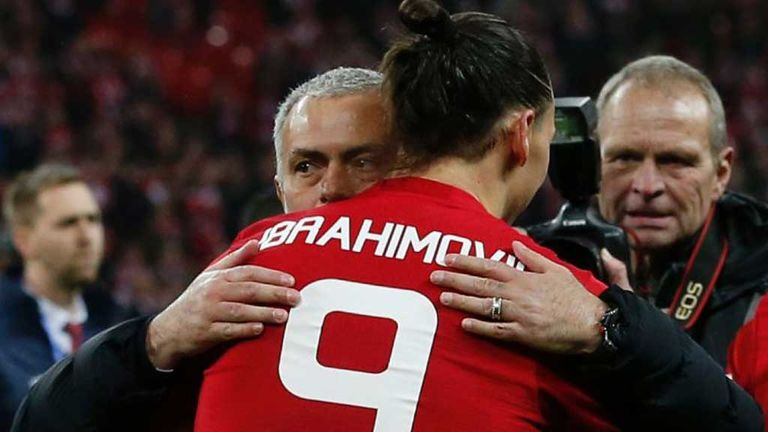 Four ways Manchester United could line-up when Zlatan Ibrahimovic returns to action