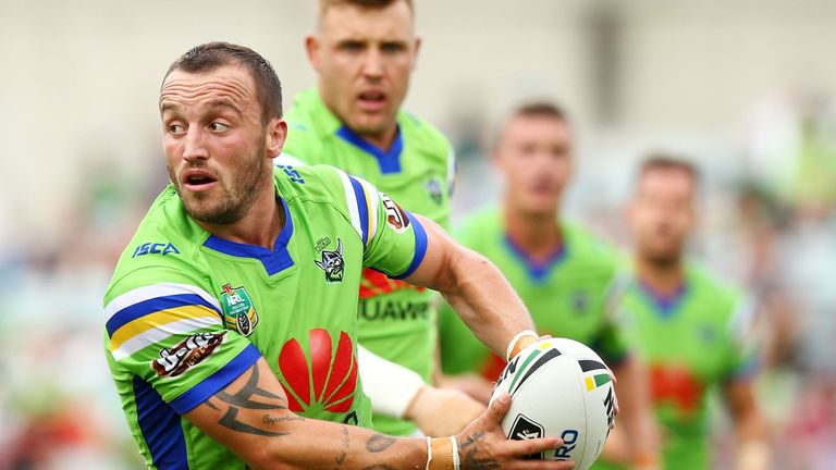 Josh Hodgson impressed for the Raiders against Cronulla