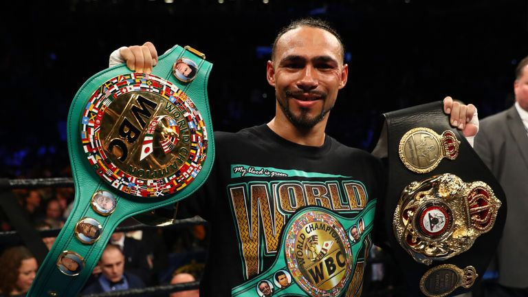 Keith Thurman added the WBC belt to WBA title after victory over Danny Garcia last weekend