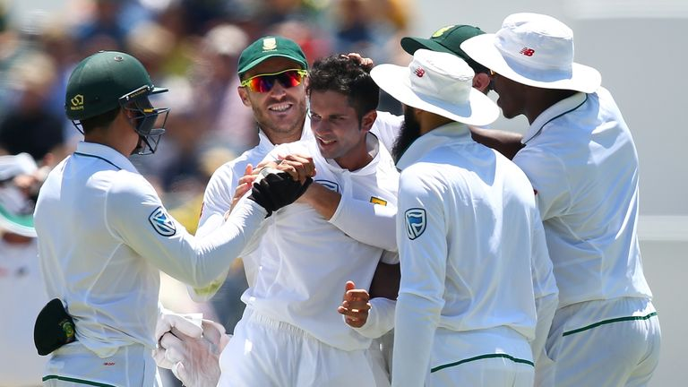 Keshav Maharaj featured and impressed in South Africa's recent series in New Zealand