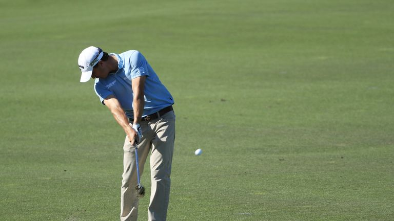 Kisner briefly held a four-shot lead during the third round