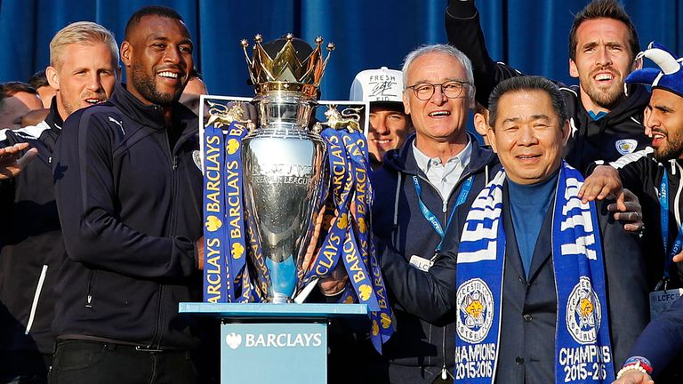Leicester City won the Premier League before reaching the quarter-finals of the Champions League