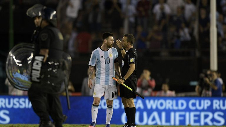 FIFA banned Argentina's Lionel Messi for four matches