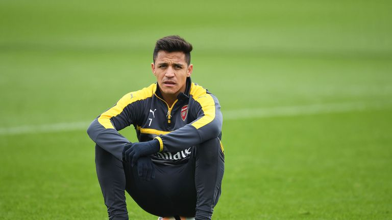 Sanchez has not cut a happy figure at Arsenal in recent weeks