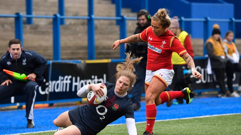 Lydia Thompson is fit for England's semi-final against France in the World Cup