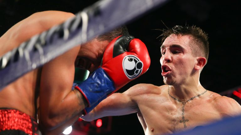 Conlan stopped Tim Ibarra midway through the six-rounder