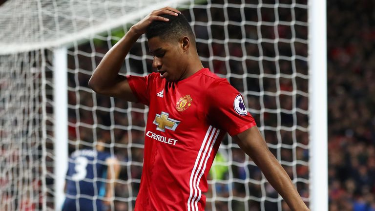 Marcus Rashford has struggled to find the consistent goalscoring form he showed last season