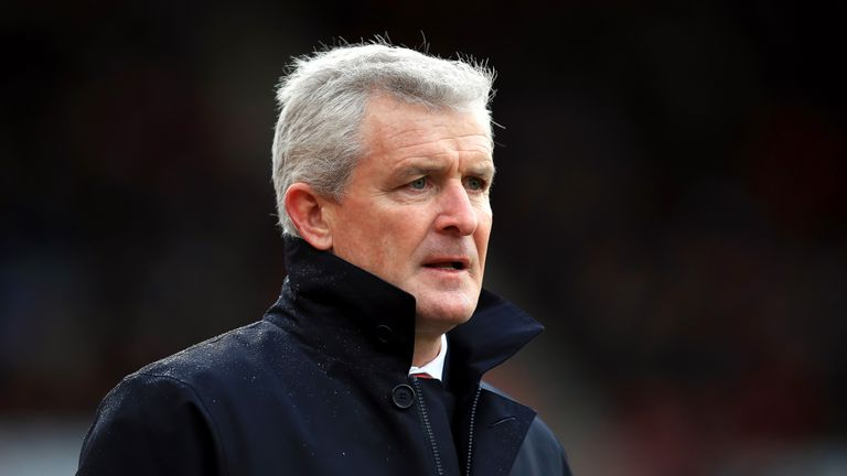 Mark Hughes is delighted to have retained the services of Johnson