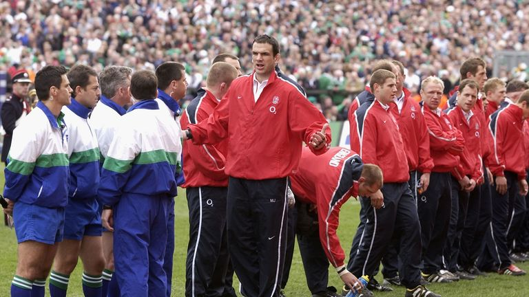 Johnson refuses to be moved after lining up against Ireland in 2003