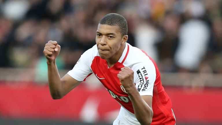 Real are also thought to be interested in Monaco forward Kylian Mbappe