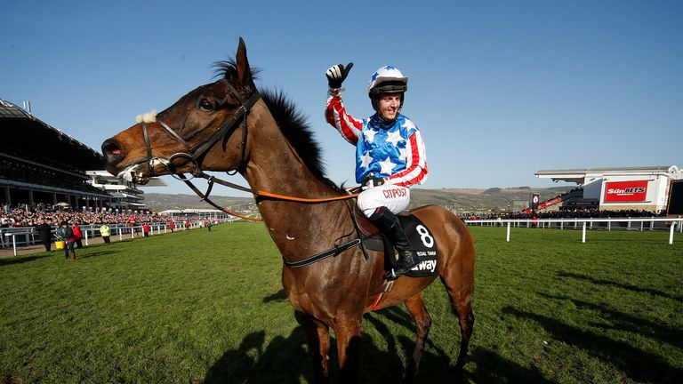 Noel Fehily was completing a Champion Hurdle/Champion Chase double