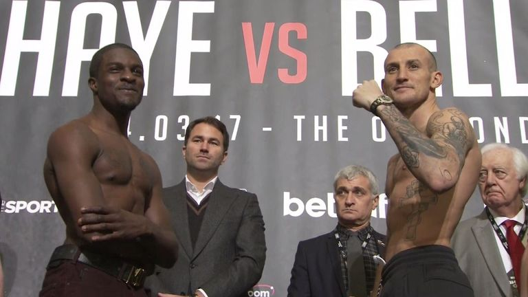 Ohara Davies will also settle his long-running feud with Derry Mathews