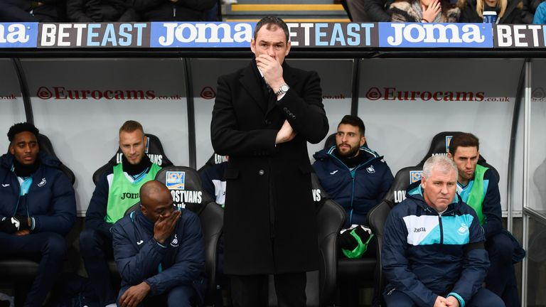 Paul Clement's arrival saw an upturn in Swansea's fortunes