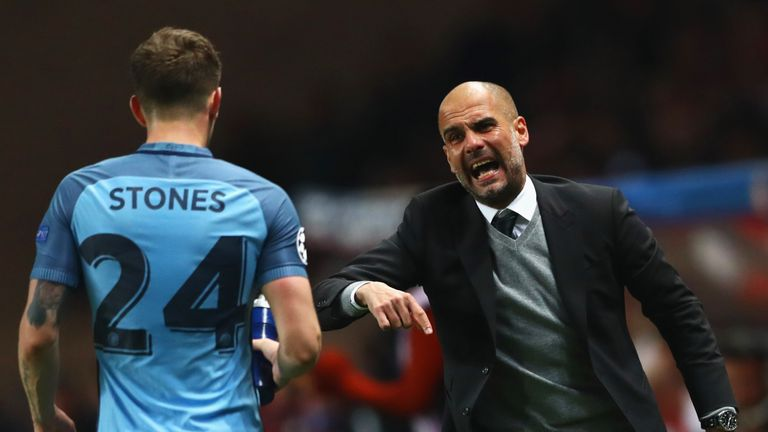 Stones says he is always learning from Pep Guardiola at Man City