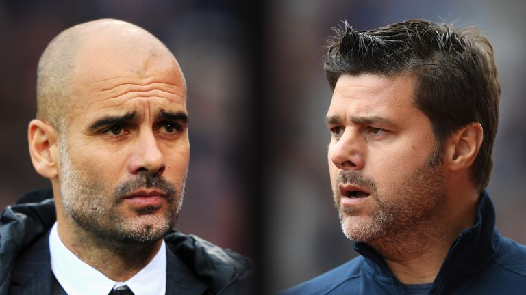 Pep Guardiola and Mauricio Pochettino - once rivals in the city of Barcelona - are competing in the Premier League