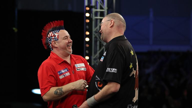 Wright edged Raymond van Barneveld in a classic