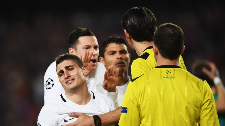 Verratti has appointed Mino Raiola as his new agent