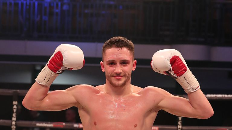 Bellotti is looking at a British featherweight title challenge
