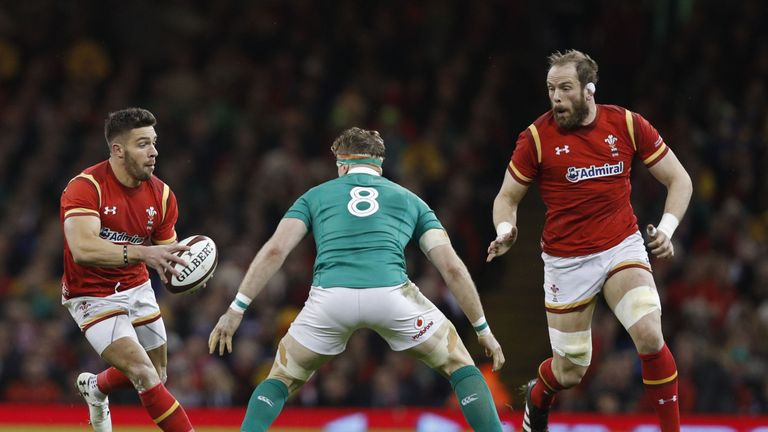 Rhys Webb (L) should deputise for Conor Murray at the Lions tour, says Barnes
