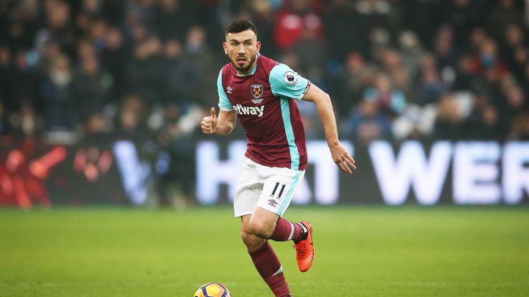 Robert Snodgrass has been told he is free to leave West Ham