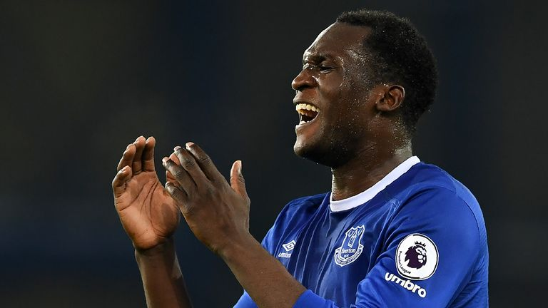 Romelu Lukaku has questioned Everton's transfer policy