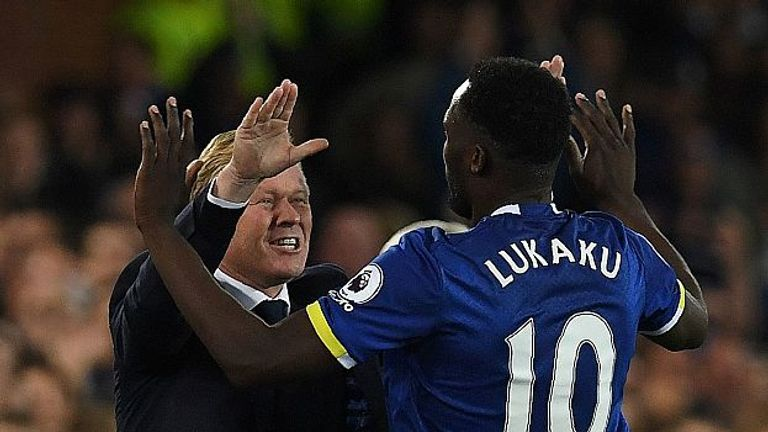 Romelu Lukaku's 'professional' attitude gives Koeman no cause for concern