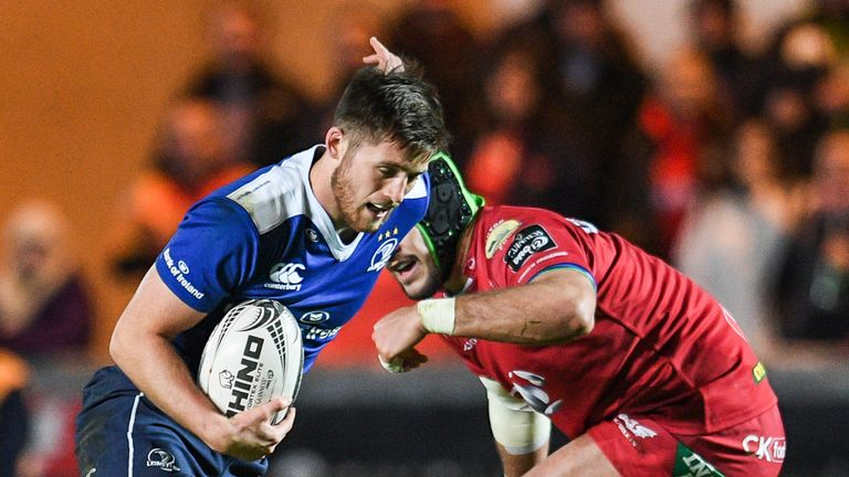 Ross Byrne starts at fly-half for Leinster in Dublin