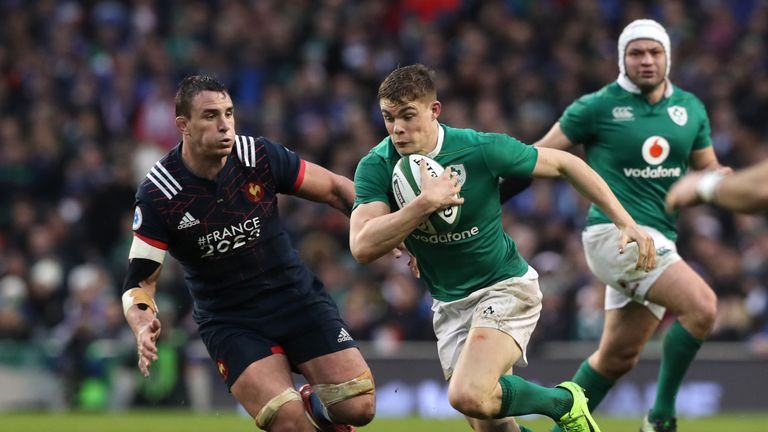 Garry Ringrose is likely to tour the USA and Japan with Ireland this summer