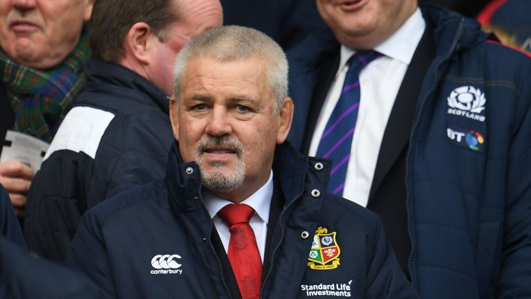 Warren Gatland names his Lions squad on April 19