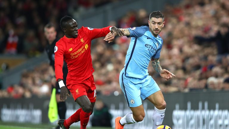 Liverpool face Man City on Super Sunday, live on Sky Sports