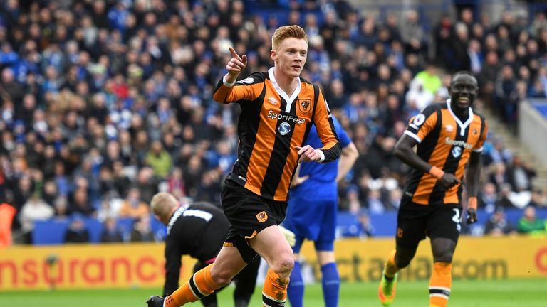 Clucas scooped Hull's Player of the Year Award, selected by manager Marco Silva