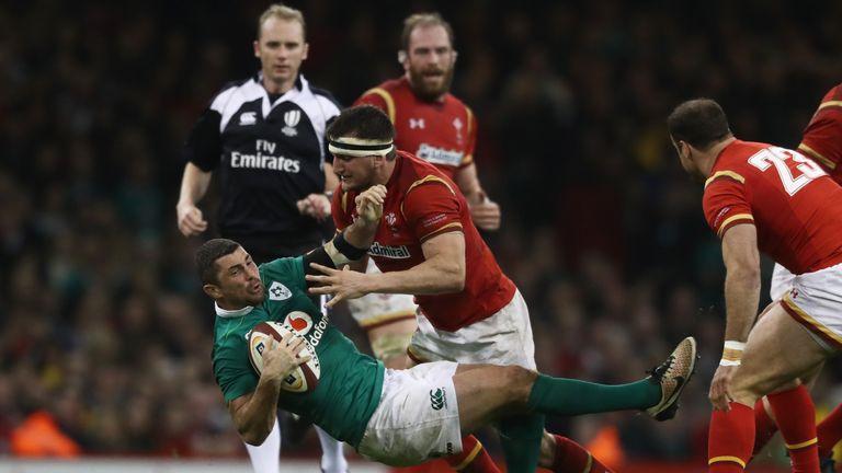 Sam Warburton tackled relentlessly against Ireland