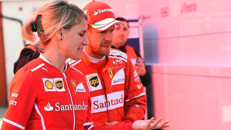 Vettel plays down Ferrari pace on Day Seven