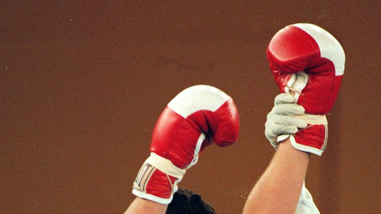 Spencer Oliver won his first amateur fight at the famous 'mecca of boxing'