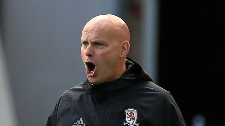 Steve Agnew is currently in caretaker charge of Boro