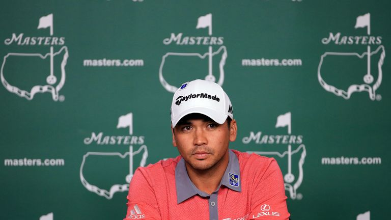Jason Day played alongside Dustin Johnson in the final round of the 2016 Masters