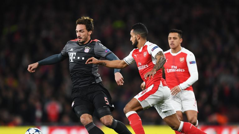 Arsenal are likely to avoid another meeting with Bayern Munich having dropped into the Europa League