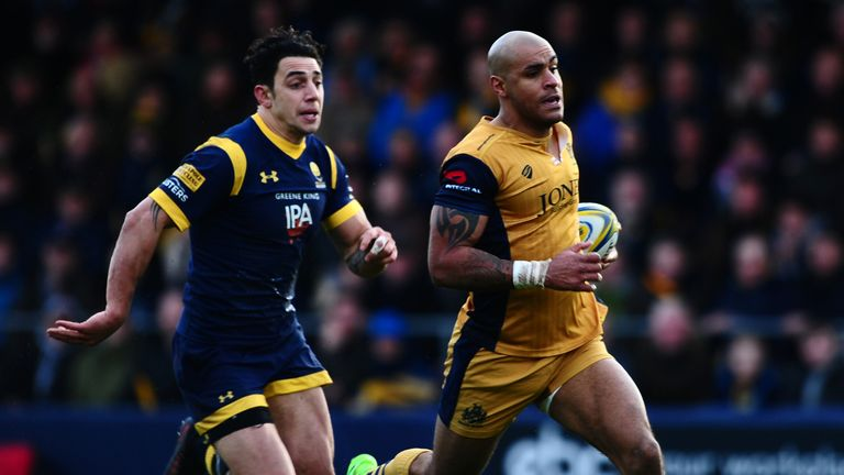 Bristol's hopes to remain in the Premiership were dealt a blow thanks to a 41-24 loss to relegation rivals Worcester on Sunday