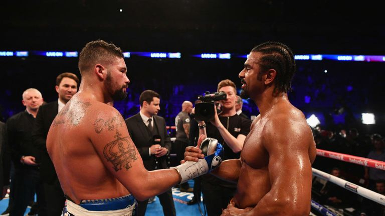 The fight and the fued between Tony Bellew and David Haye was here