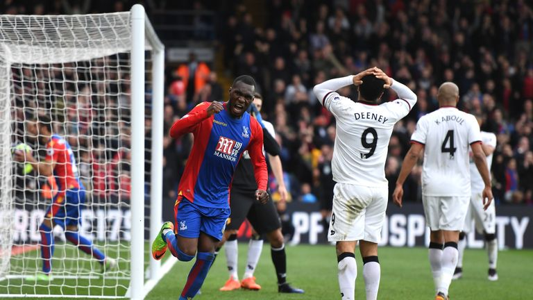 Troy Deeney's own goal swung a tight game in Palace's favour