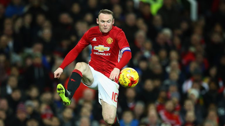 Rooney spent 13 years at Manchester United