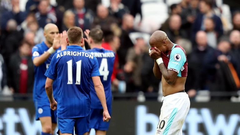 West Ham fell to a 3-2 defeat on Saturday to champions Leicester