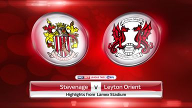 Stevenage 4-1 Leyton Orient