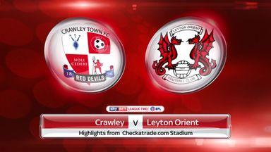 Crawley 3-0 Leyton Orient