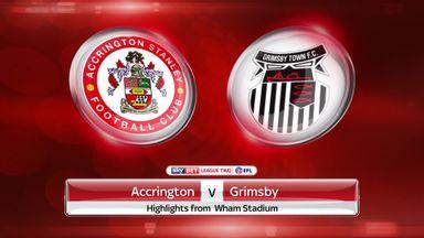 Accrington 1-1 Grimsby